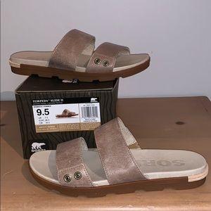 Sorel leather sandals